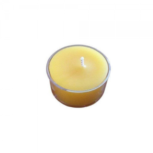 Pure Natural Raw Beeswax Tea Lights 200 Pack Candles